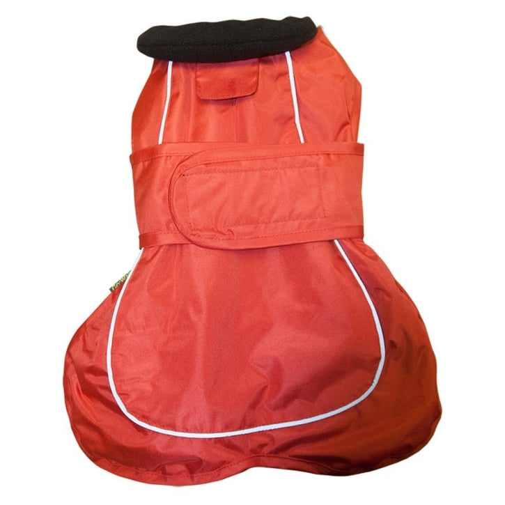 Happy Pet Go Walk 2 in 1 Thermal Dog Coat Red 12