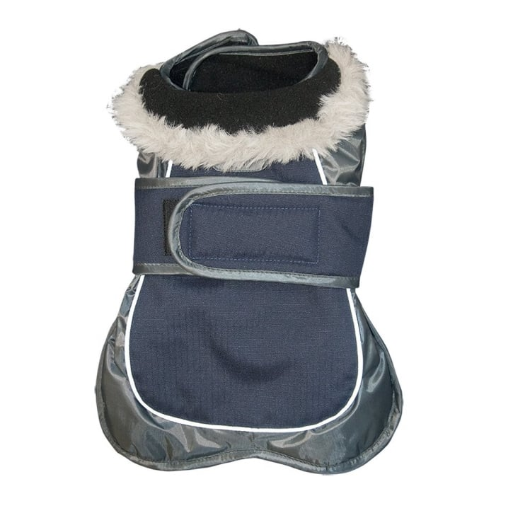 Happy Pet Go Walk Thermal Extreme Dog Coat Navy 12