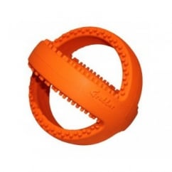 Happy Pet Grubber Interactive Football Dog Toy