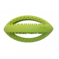 Grubber Interactive Rugby Ball Dog Toy