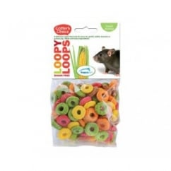 Happypet Critter's Choice Loopy Loops 50g