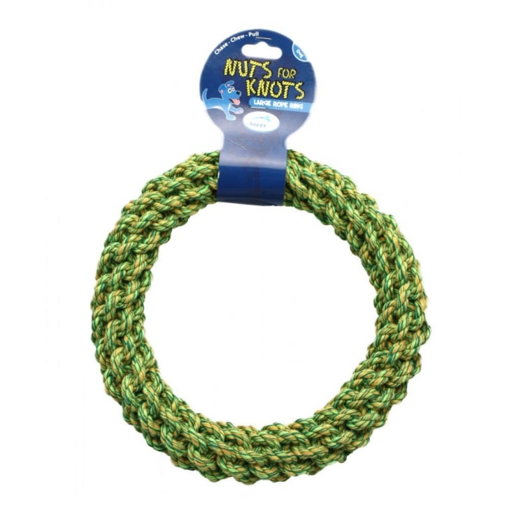 Happy Pet Nuts For Knots Dog Play Ring - Large