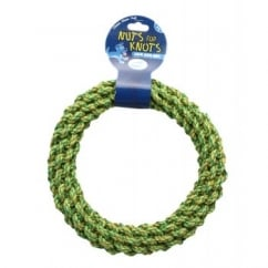 Nuts For Knots Dog Play Ring - Large