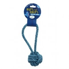 Happy Pet Nuts For Knots Tugger Dog Play Toy - Small