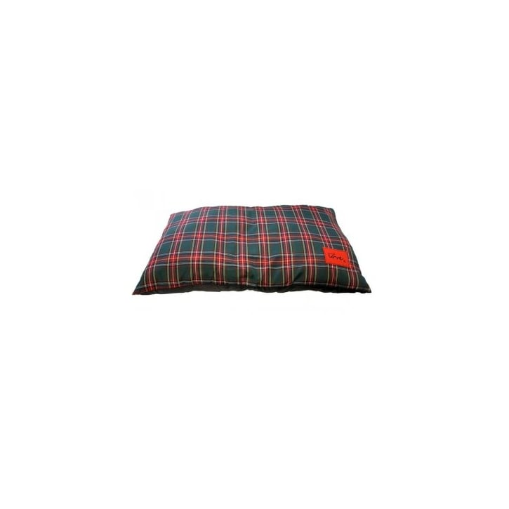 Happy Pet Tartan Knife Edge Cushion Dog or Cat Bed 28