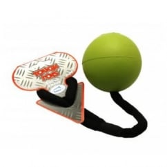 Tough Toys Rope Ball Floater Dog Toy 3.25