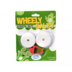 Happy Pet Wheely Salty Essentials Salty Licks for Small Animals