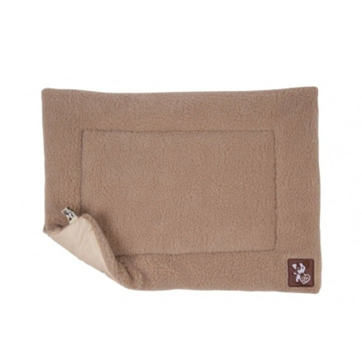 Happy Pet Yap Cossii Beige Lambswool Dog Cage Mat 18