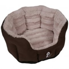 Happy Pet Yap Fabriano Oval Dog Bed 18""