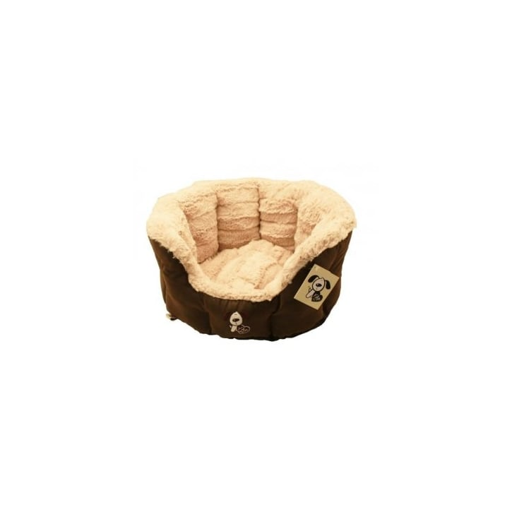 Happy Pet Yap Montieri Oval Dog Bed 30