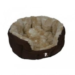 Yap Peluchi Giraffe Oval Dog Bed 26