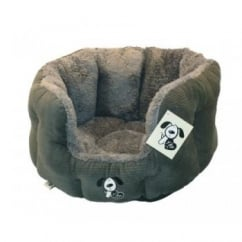 Happy Pet Yap Rimini Oval Dog Bed 18""