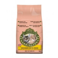 Harringtons Adult Cat Complete With Chicken & Rice 2kg