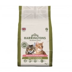 Adult Cat Food Complete Salmon & Rice 2kg