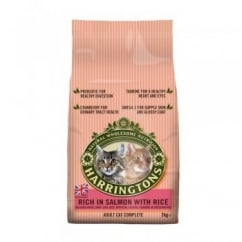 Harringtons Adult Complete Cat Salmon & Rice 2kg