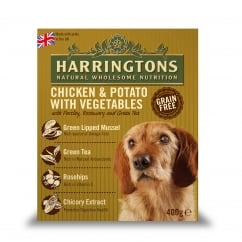 Harringtons Adult Dog Wet Food Chicken & Potato With Veg 8 x 400g Pack