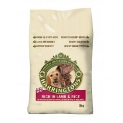 Harringtons Complete Adult Dog Food Lamb & Rice 15kg