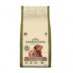 Complete Adult Dog Food Lamb & Rice 2kg