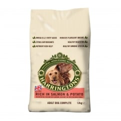 Harringtons Complete Adult Dog Food Rich in Salmon & Potato 12kg