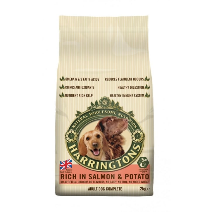 Harringtons Complete Adult Dog Food Rich in Salmon & Potato 2kg