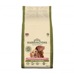 Complete Adult Dog Food Rich in Salmon & Potato 2kg