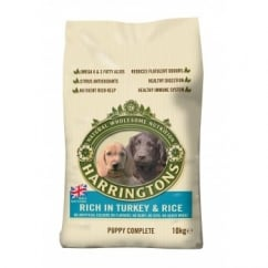 Harringtons Complete Puppy Dog Food Turkey & Rice 10kg