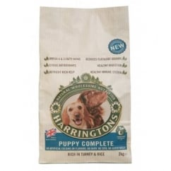 Harringtons Complete Puppy Dog Food Turkey & Rice 2kg