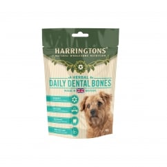 Herbal Daily Dental Bones Dog Treats 160g