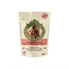 Harringtons Salmon Roll Dog Treats 160g