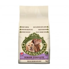 Harringtons Senior Complete Rich In Chicken With Rice Dog Food 2kg