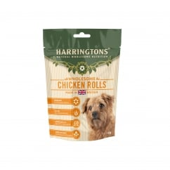 Wholesome Chicken Rolls Dog Treats 160g
