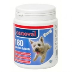 Hatchwells Canavel Calcium Tablets For Dogs & Cats - 180 Tablets