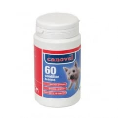 Hatchwells Canovel Condition Tablets For Dogs & Puppies - 60 Tablet