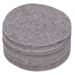 "Hatchwells Nest Felts Flat 5"" diameter"