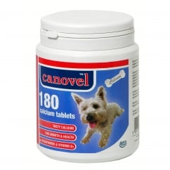 Canavel Calcium Tablets For Dogs & Cats - 180 Tablets