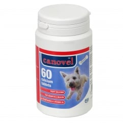 Canavel Calcium Tablets For Dogs & Cats - 60 Tablets