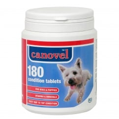Canovel Condition Tablets For Dogs & Puppies - 180 Tablet