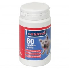 Canovel Condition Tablets For Dogs & Puppies - 60 Tablet