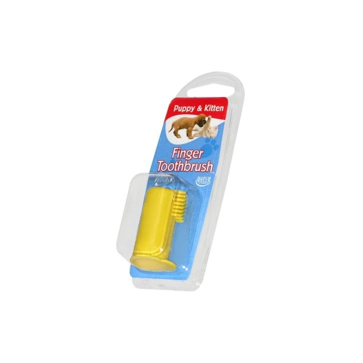 Hatchwells Denti-fresh Puppy & Kitten Finger Toothbrush