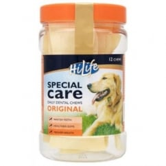 Hi Life Special Care Daily Dental Dog Chew - Original - Pack 12's
