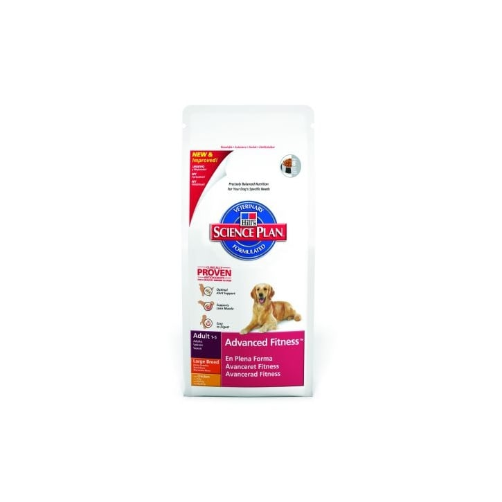 Hills Pet Nutrition Canine Adult Advanced Fitness Large Breed with Chicken 12kg