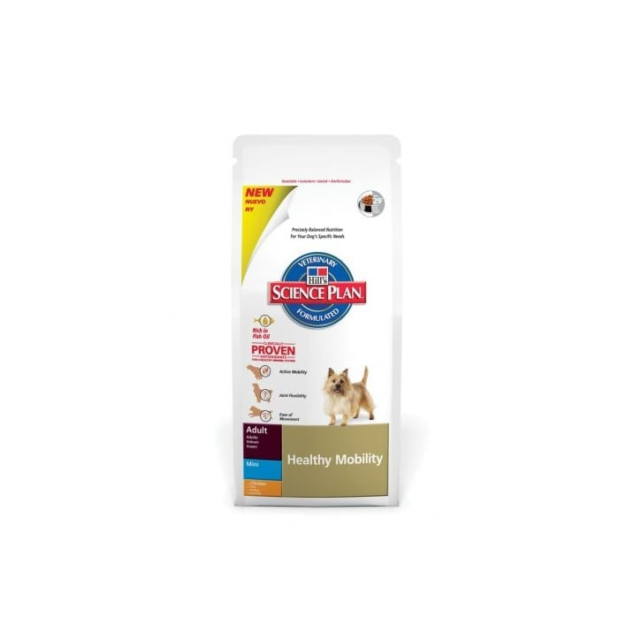 Hills Pet Nutrition Canine Adult Healthy Mobility Mini with Chicken 7.5kg