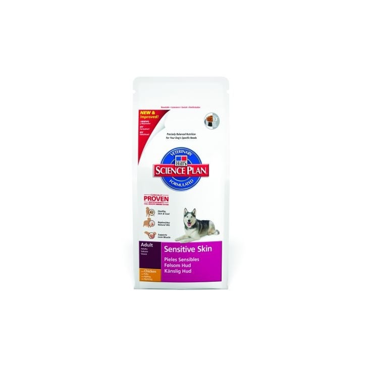 Hills Pet Nutrition Canine Adult Sensitive Skin with Chicken 12kg