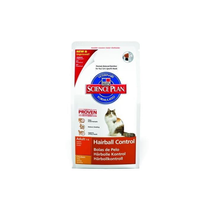 Hills Pet Nutrition Feline Adult Cat Food Hairball Control 5kg