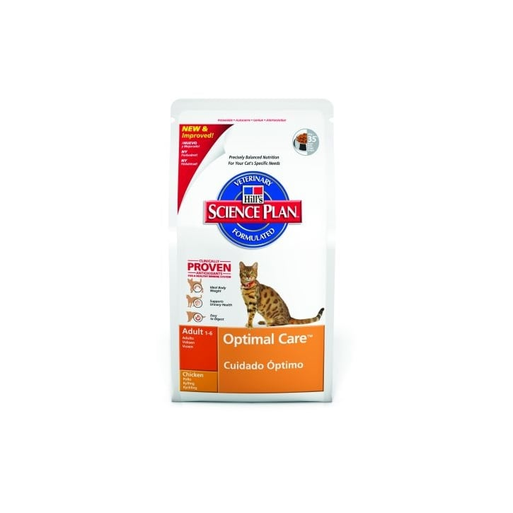 Hills Pet Nutrition Feline Adult Complete Cat Food - Chicken 15kg