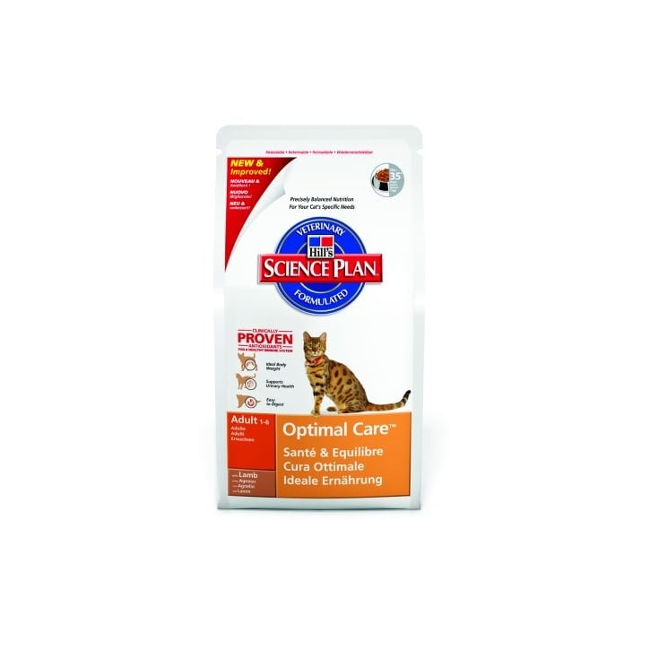 Hills Pet Nutrition Feline Adult Complete Cat Food - Lamb 2kg