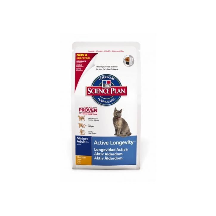 Hills Pet Nutrition Feline Complete Mature Adult Senior 7+ - Chicken 10kg