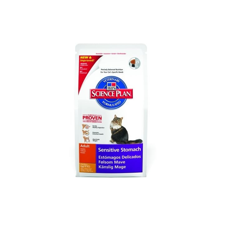 Hills Pet Nutrition Feline Sensitive Stomach Complete Cat Food Chicken 5kg