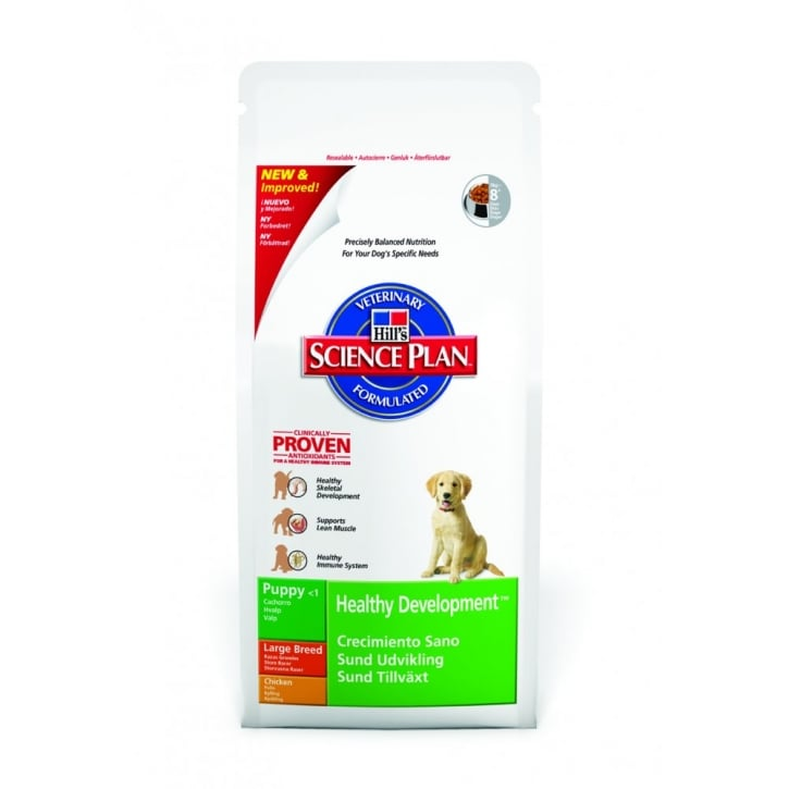 Hills Pet Nutrition Puppy Healthy Development Large Breed Chicken 11kg