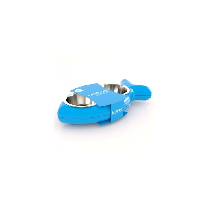 Hing Cat Bowl Bone - Blue
